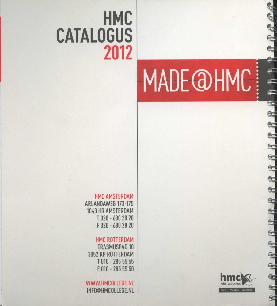 HMC 2012 catalogus back